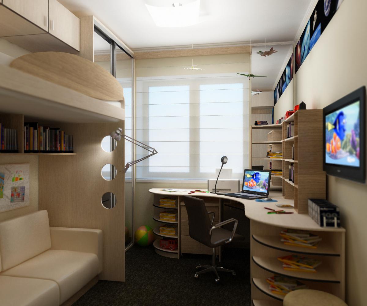 Дизайн маленькой комнаты (96 фото): примеры ремонта небольшо.