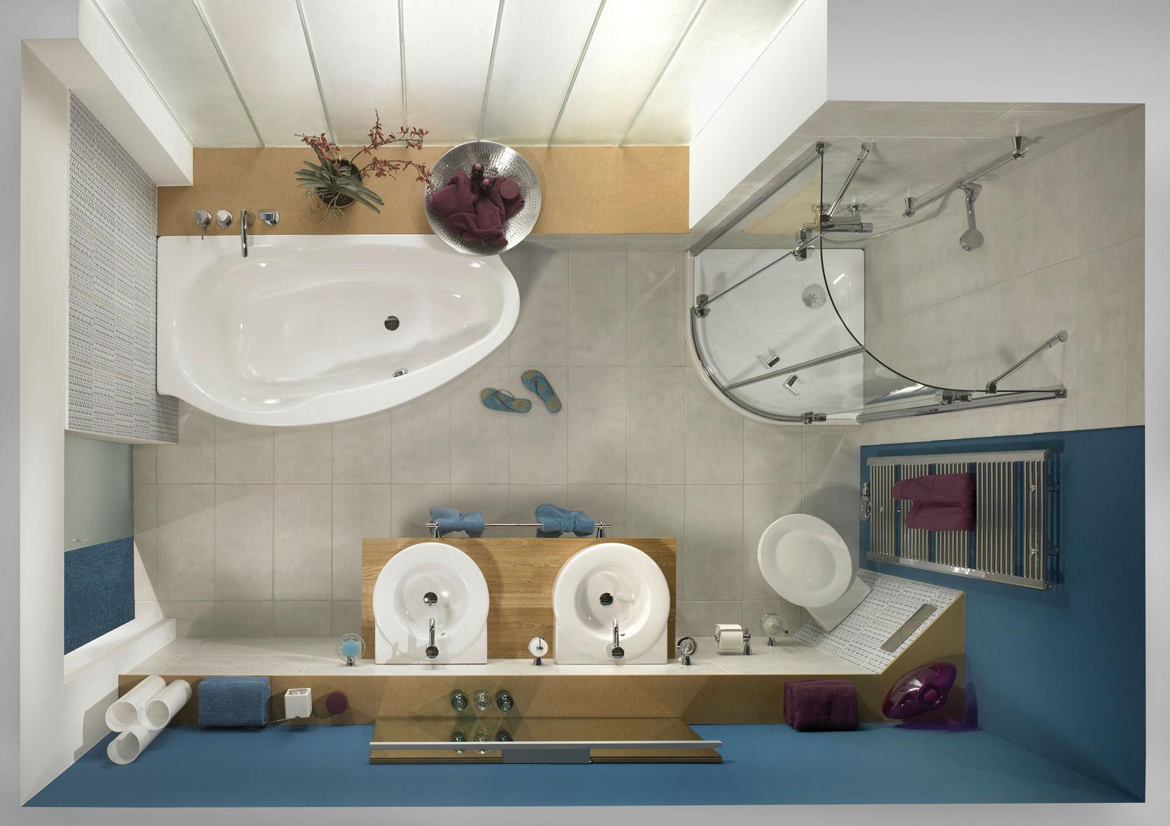 Badezimmer ideen dachschrage