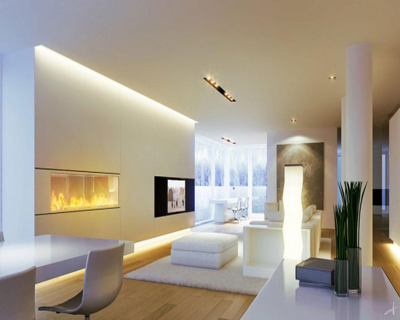 Гипсокартонный потолок с подсветкой Decor 4 House 777