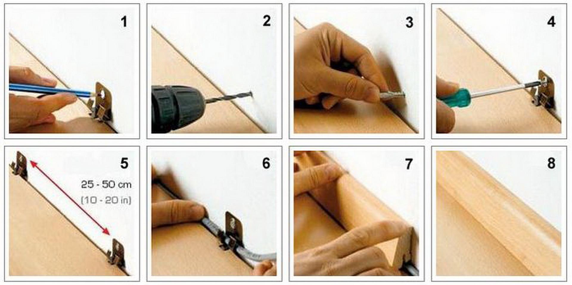 Как сделать деревянные плинтуса своими руками 451