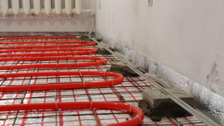 Теплые полы своими руками на бетонном полу