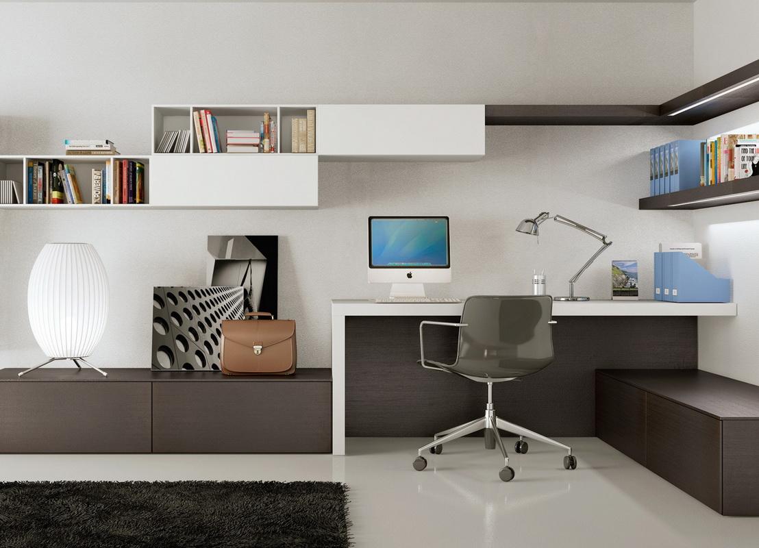 Письменный стол с тумбой (36 фото): однотумбовые выкатные из.