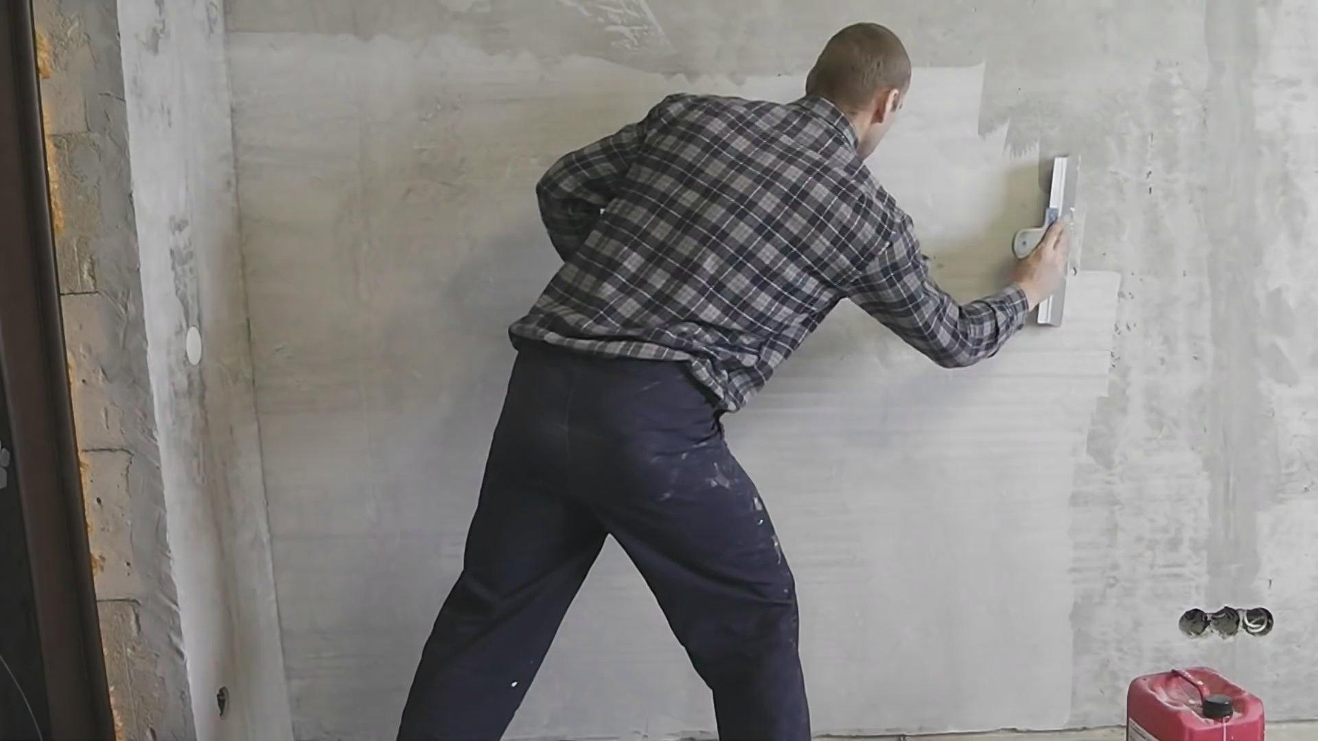 Как правильно шпаклевать стены под обои из гипсокартона
