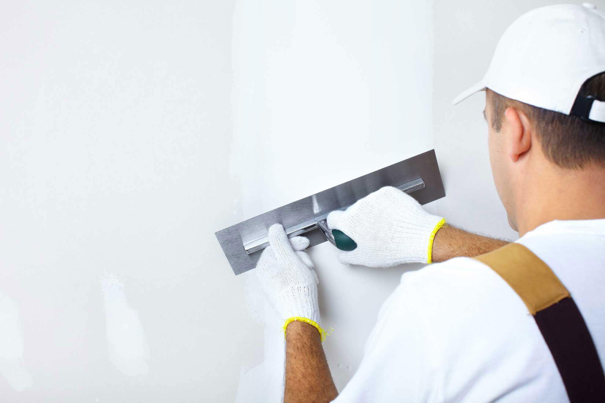 Как зашпаклевать стены под обои своими руками фото 401
