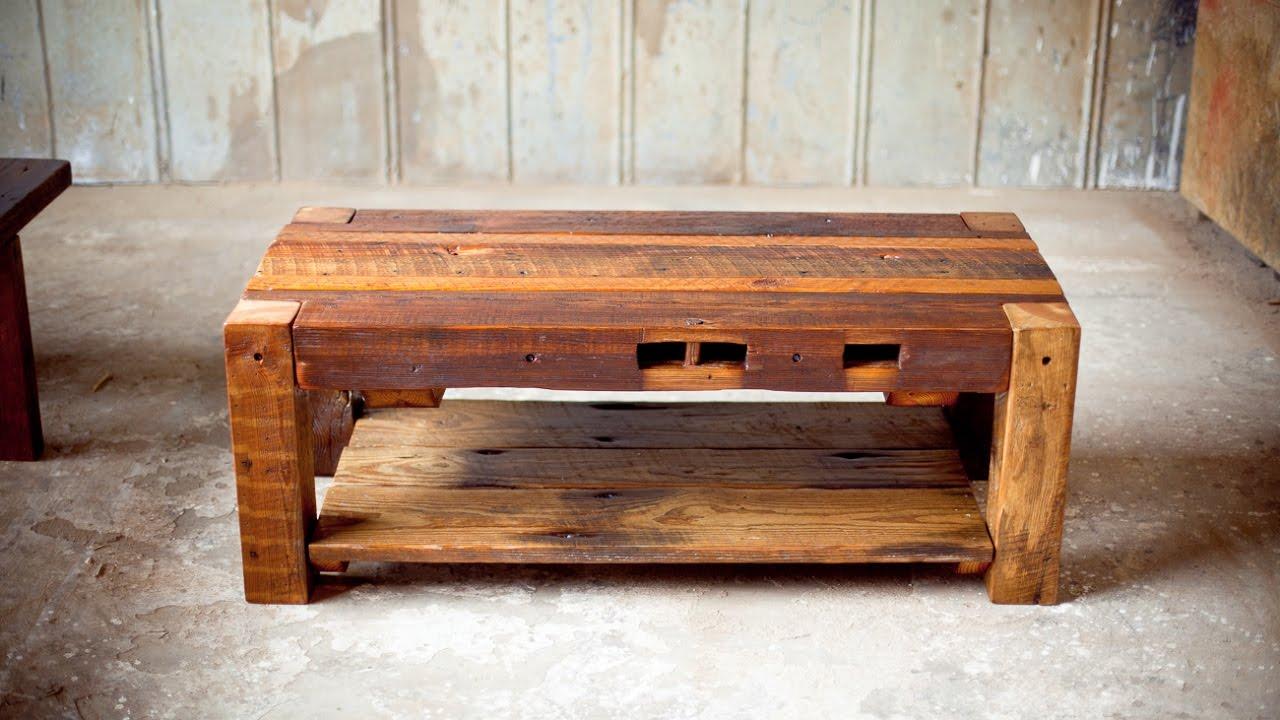 Как сделать мебель из дерева под старину своими руками