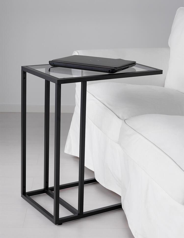 стеклянный стол Ikea 24 фото белые модели столиков со