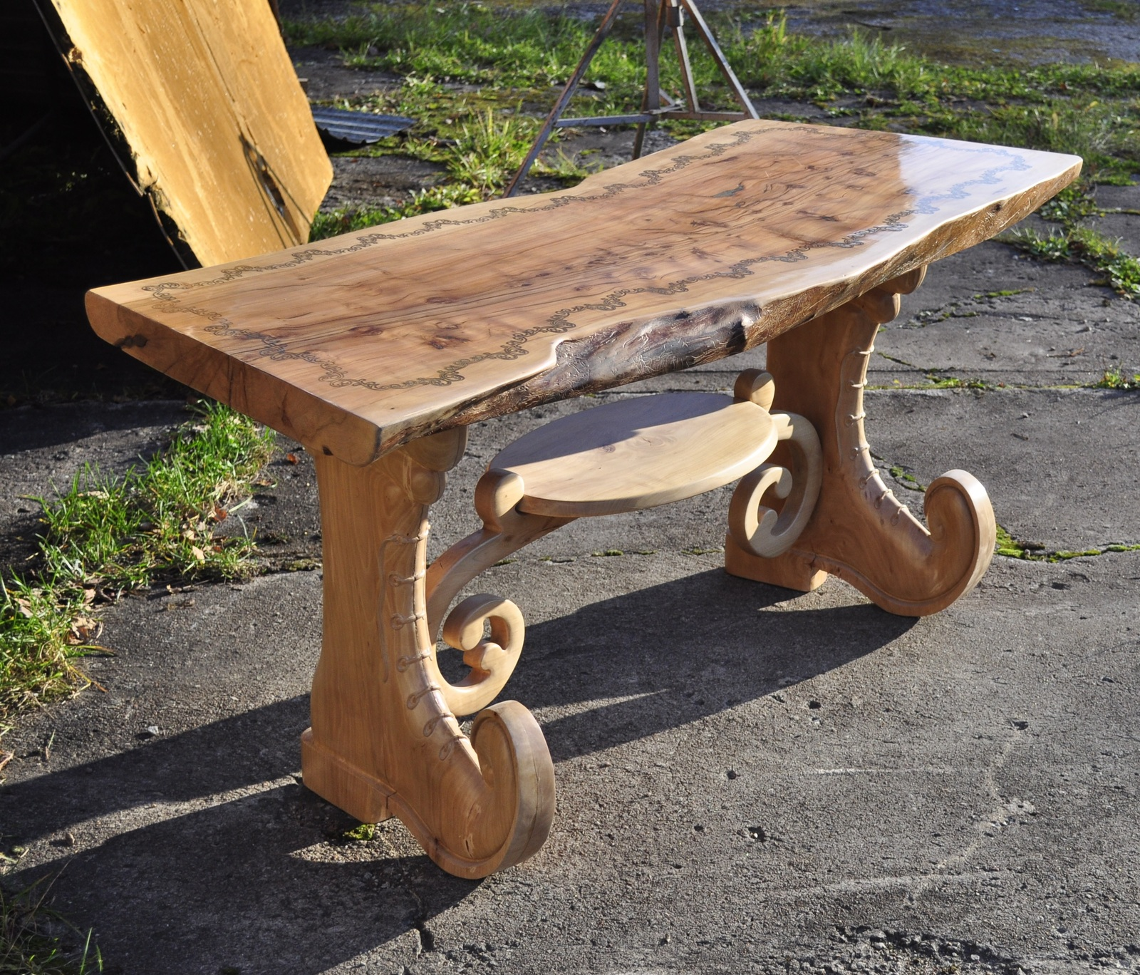 Как сделать кухонный стол из дерева своими руками чертежи фото 563