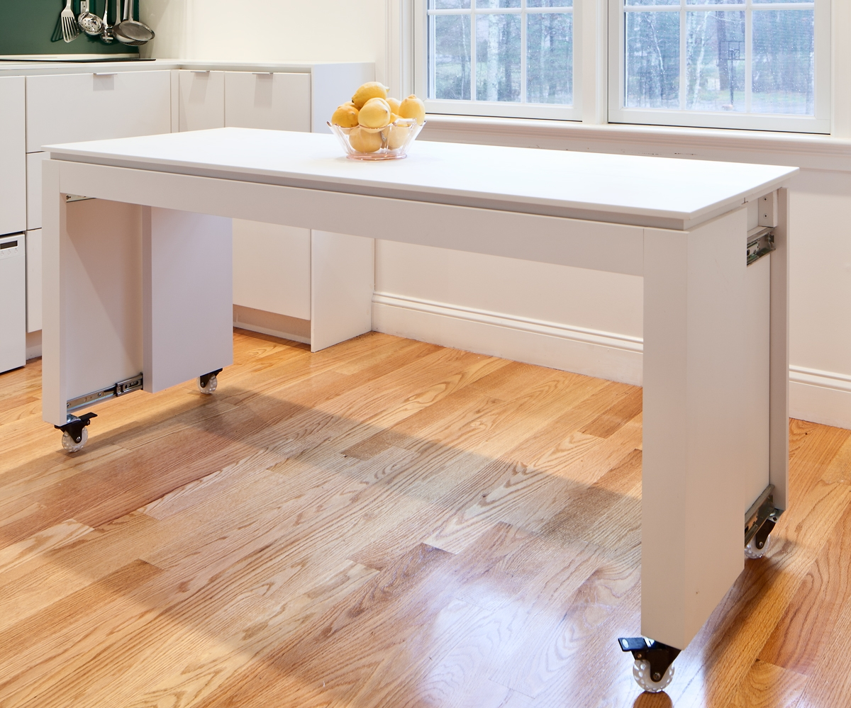 Как сделать стол из кухонной столешницы своими руками