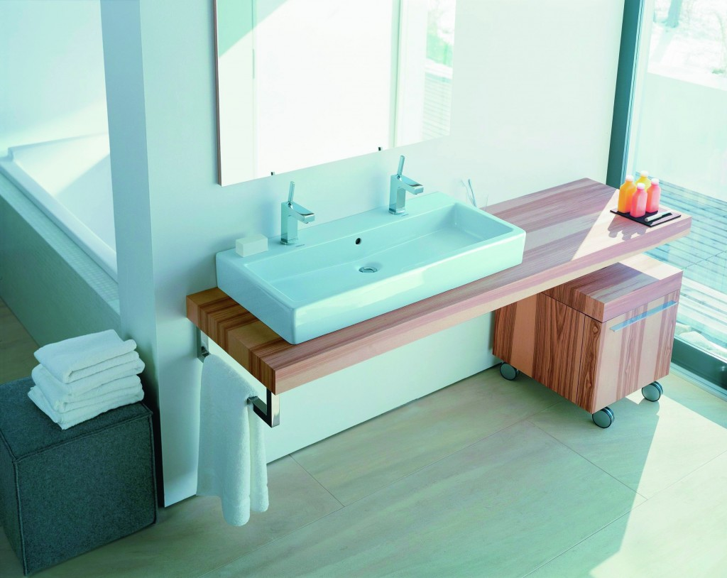 Large bathroom sinks