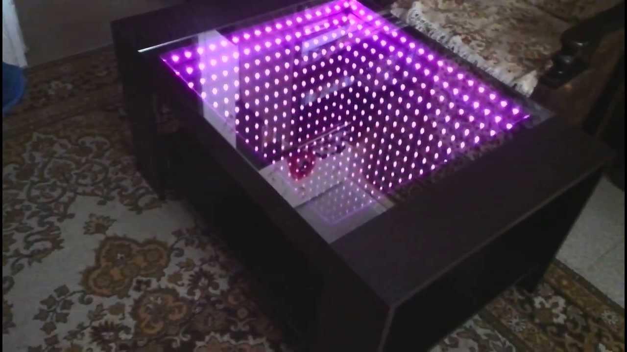 Как сделать стол с подсветкой фото 91