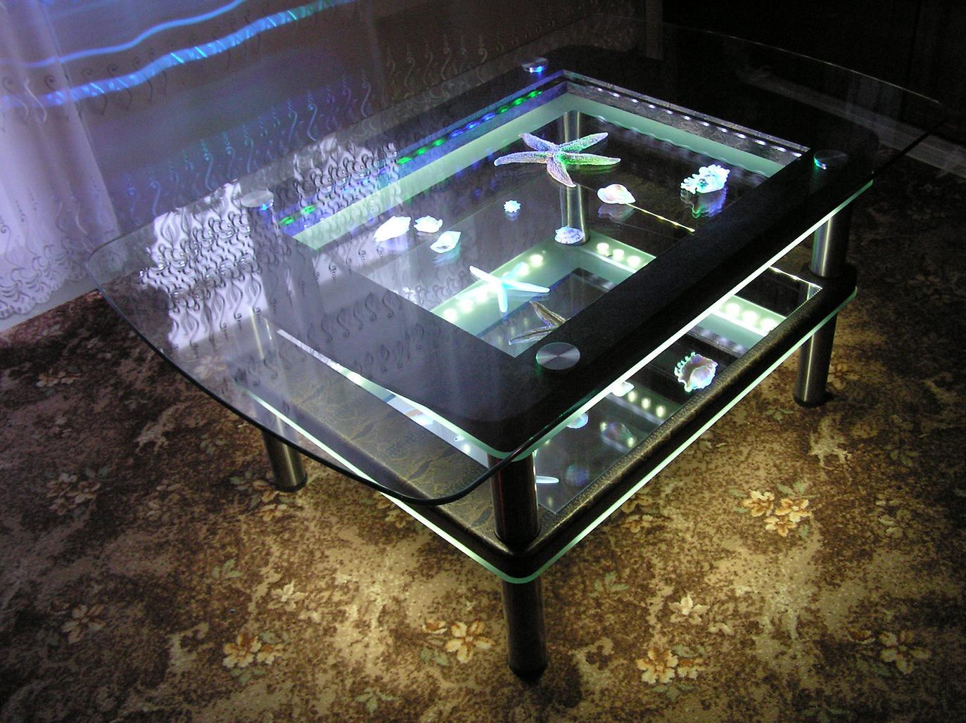 Как сделать стол с подсветкой фото 673