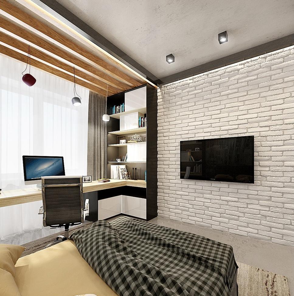 дизайн комнаты для молодого человека 60 фото интерьер в