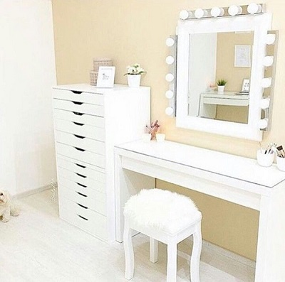 туалетный столик Ikea 38 фото белые модели с подсветкой и