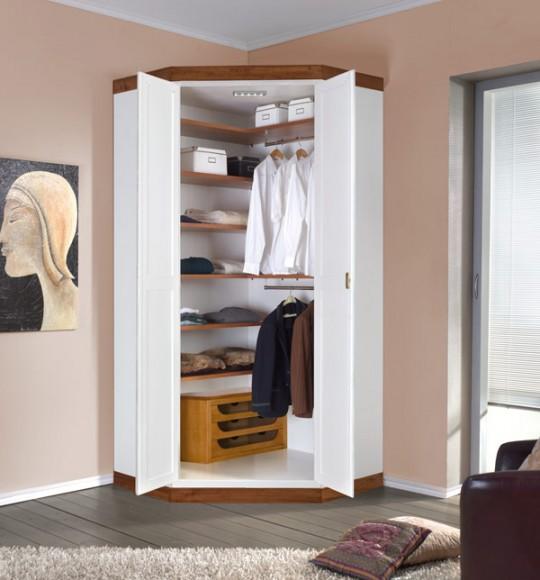 Угловой шкаф (78 фото): платяной узкий в комнату для одежды .