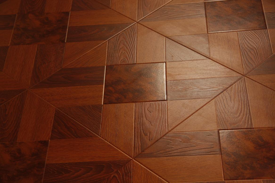 Floating floors over tiles