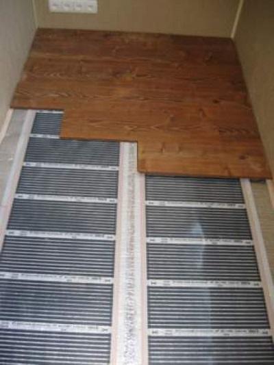 Теплый пол под ламинат на бетонный пол своими руками на балконе 43