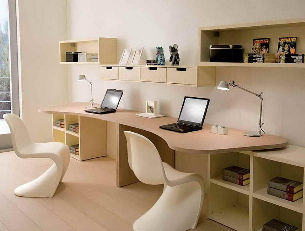 Дизайн компьютерных столов на двоих фото