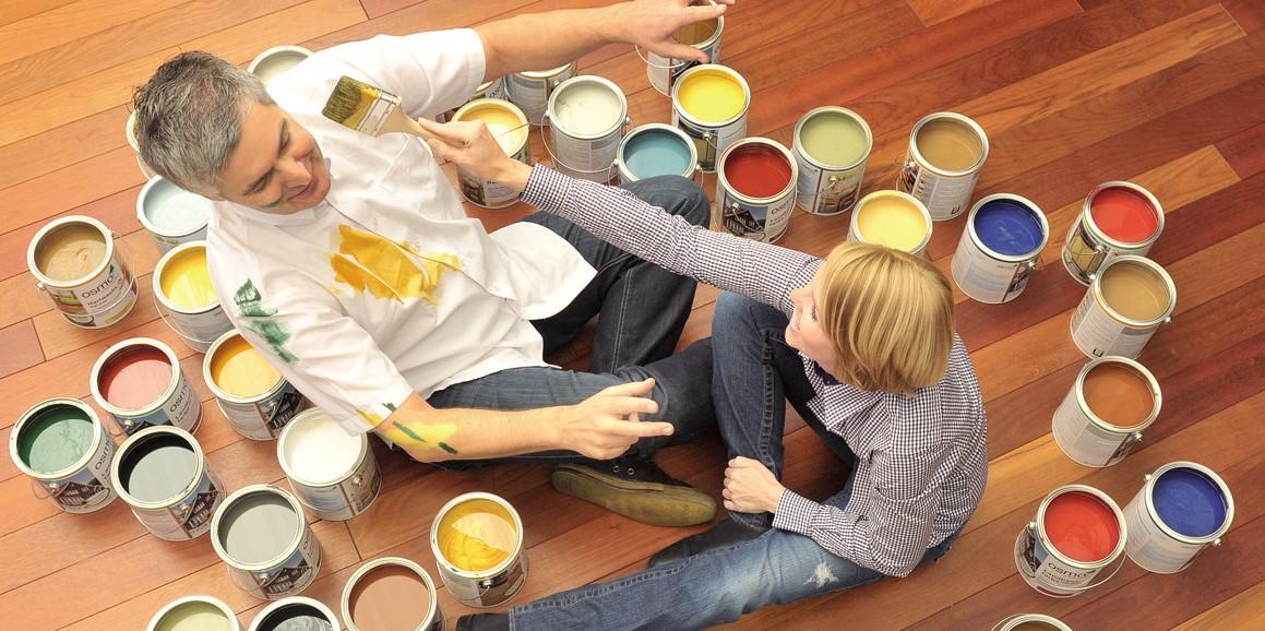 Акриловая краска для дерева экологичная и декоративная защита