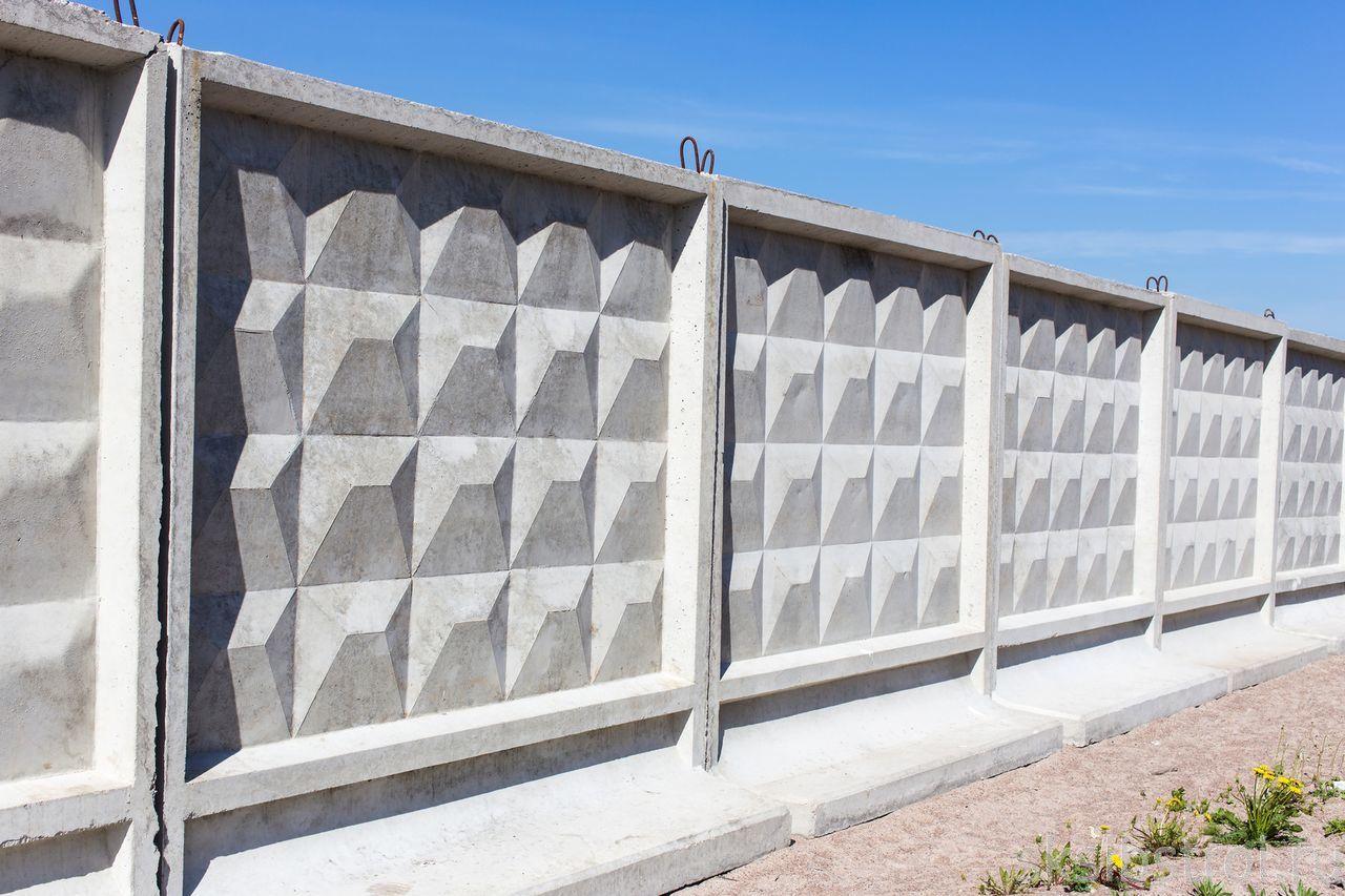 Как сделать форму на бетонный забор