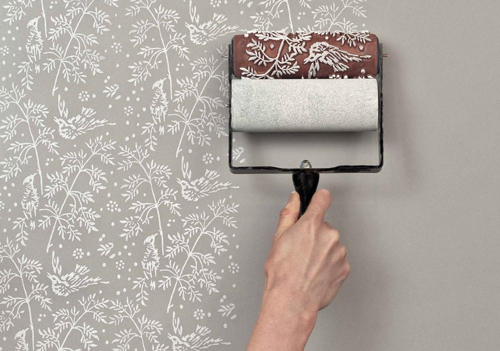 Необычная покраска стен своими руками 99