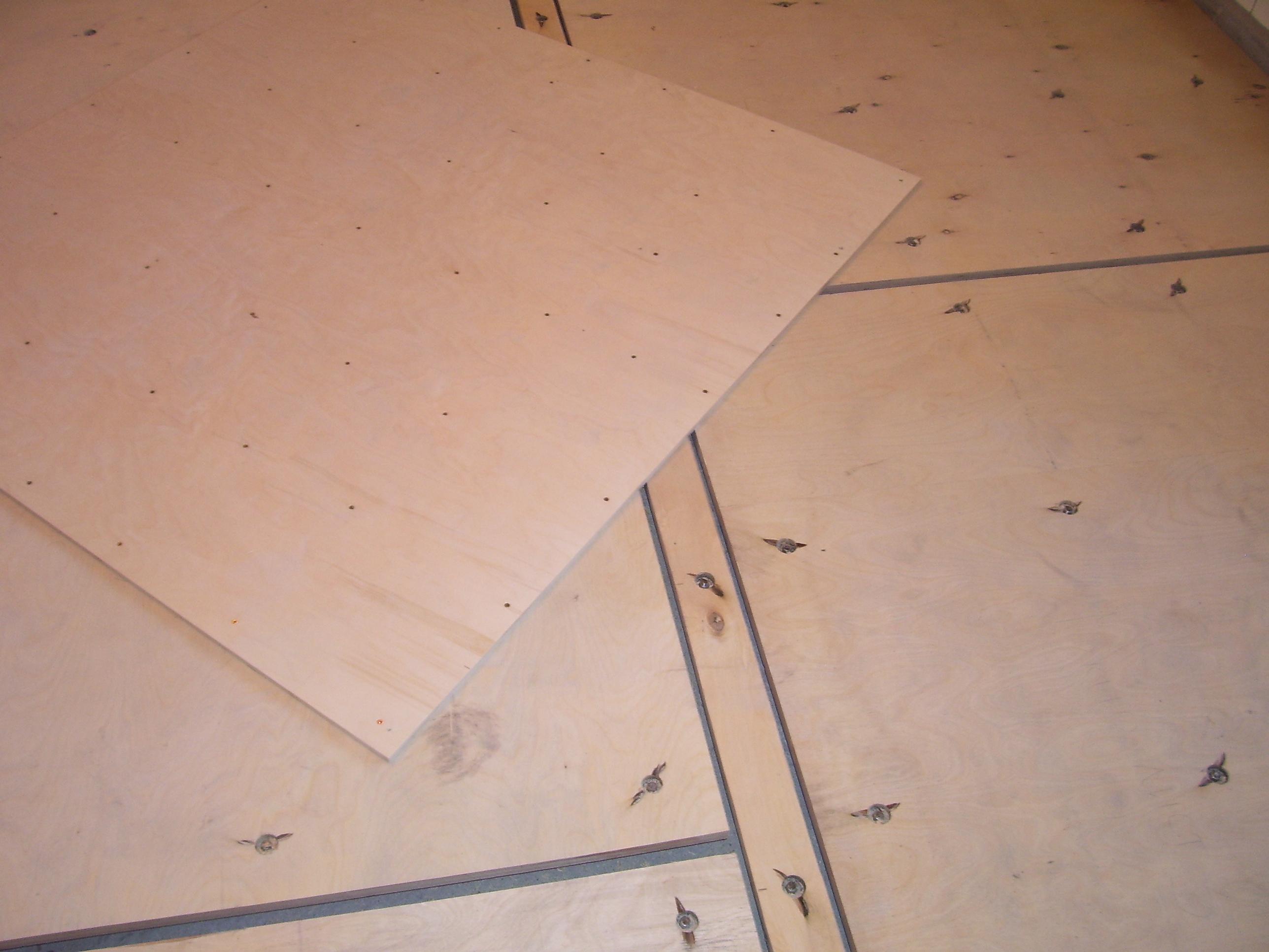Укладка фанеры на бетонный пол своими руками: крепление 100