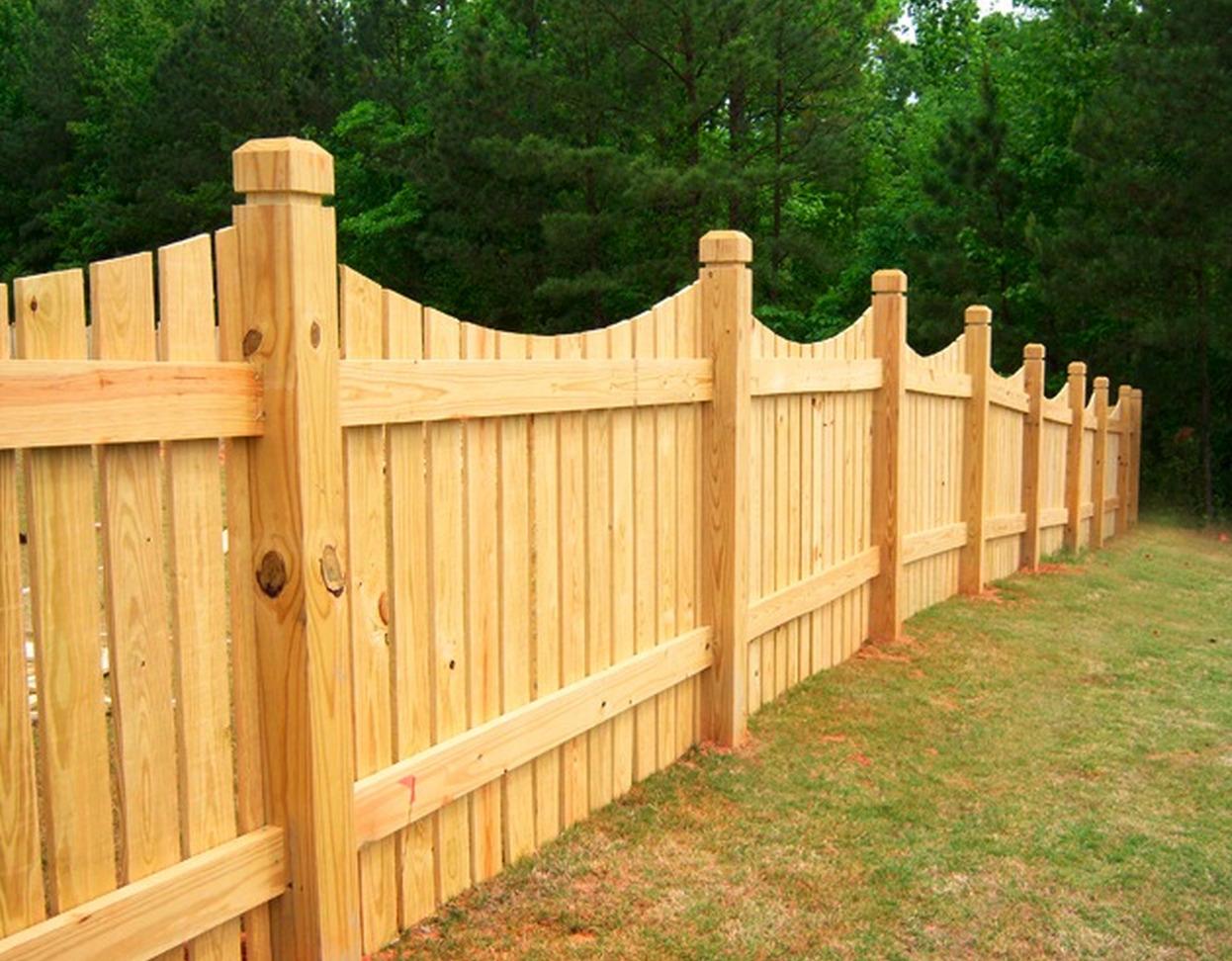 Как сделать деревянный забор - штакетник своими руками