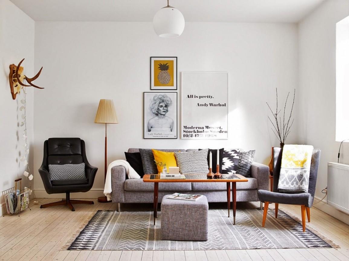 Дизайн интерьера по скандинавски