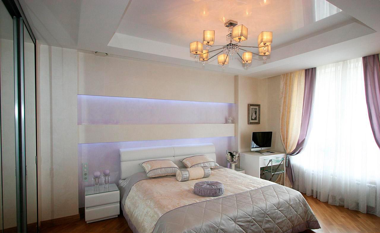 потолок в спальне подвесной фото воспользоваться тем