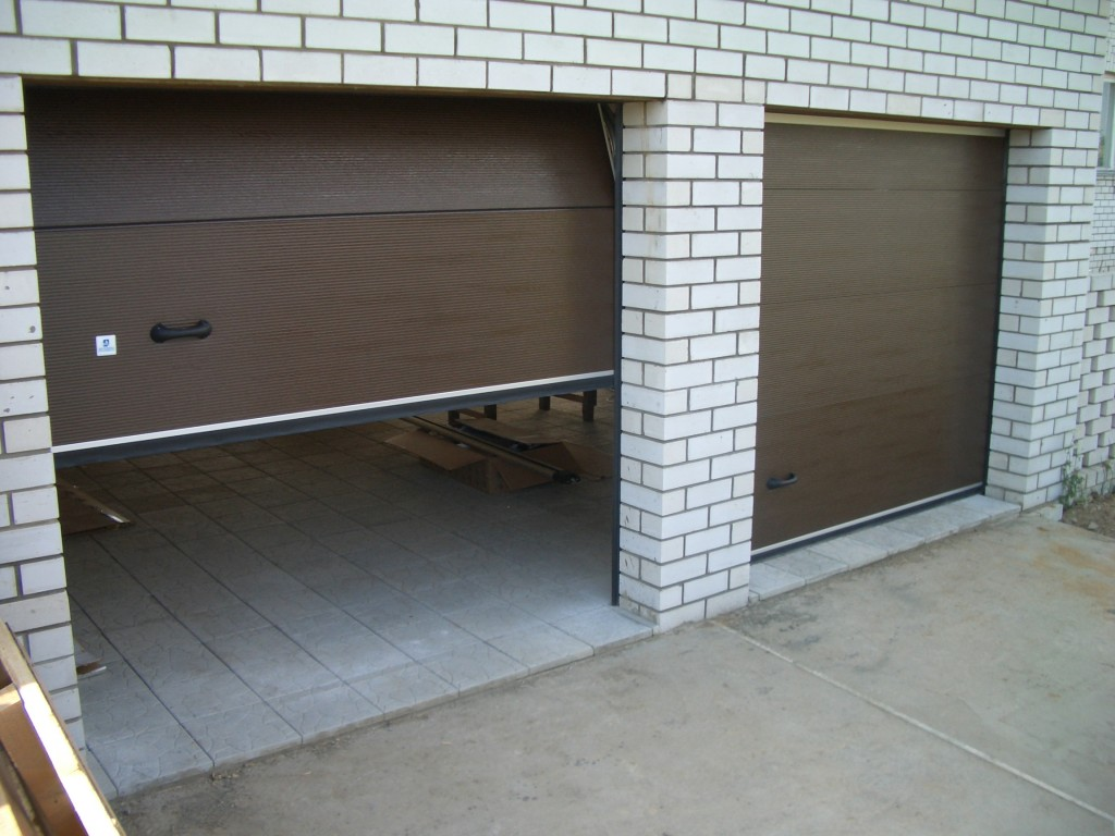 Тёплые металлические ворота своими руками фото 850