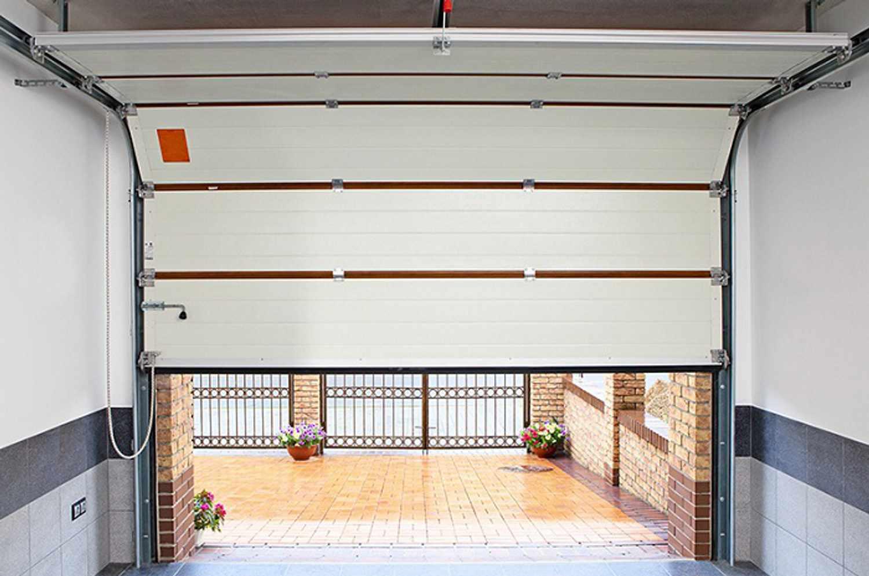 Вертикальные ворота своими руками для гаража фото 109