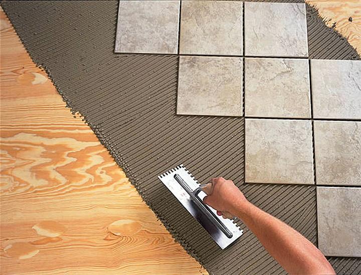Укладка кафельной плитки в домашних условиях 179
