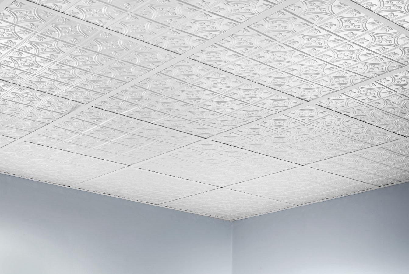 Ceiling tile clips