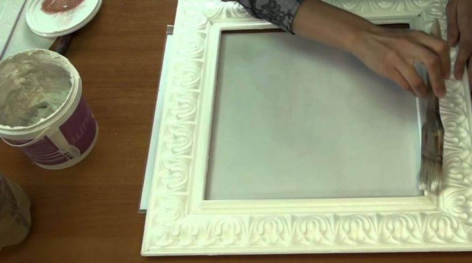 Рама для зеркала из плинтуса своими руками фото 26