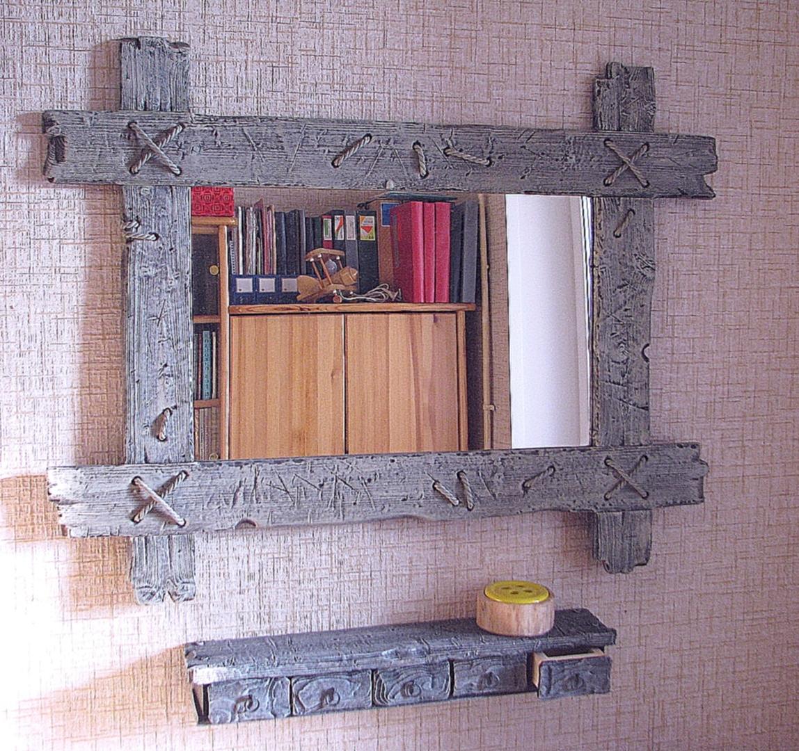 Рама для зеркала своими руками из любого материала фото