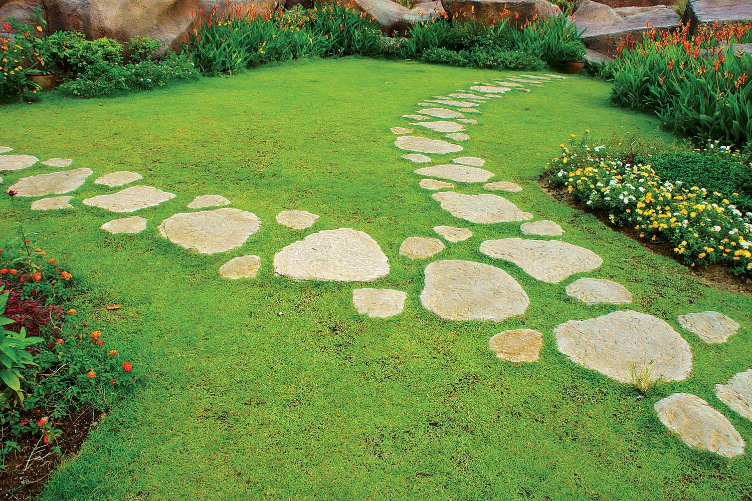 Садовые дорожки из плиток своими руками фото 986