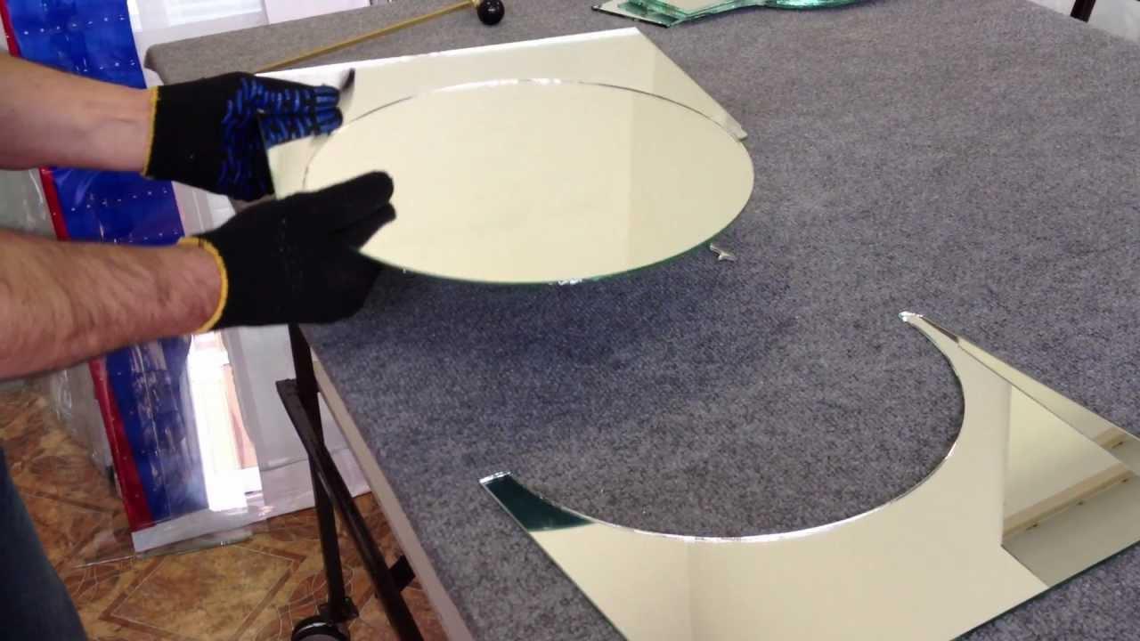 Как фигурно вырезать стекло в домашних условиях 188