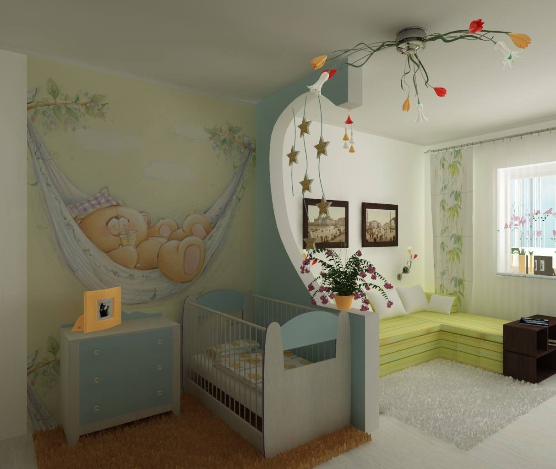 гостиная и детская в одной комнате 69 фото совмещенная планировка
