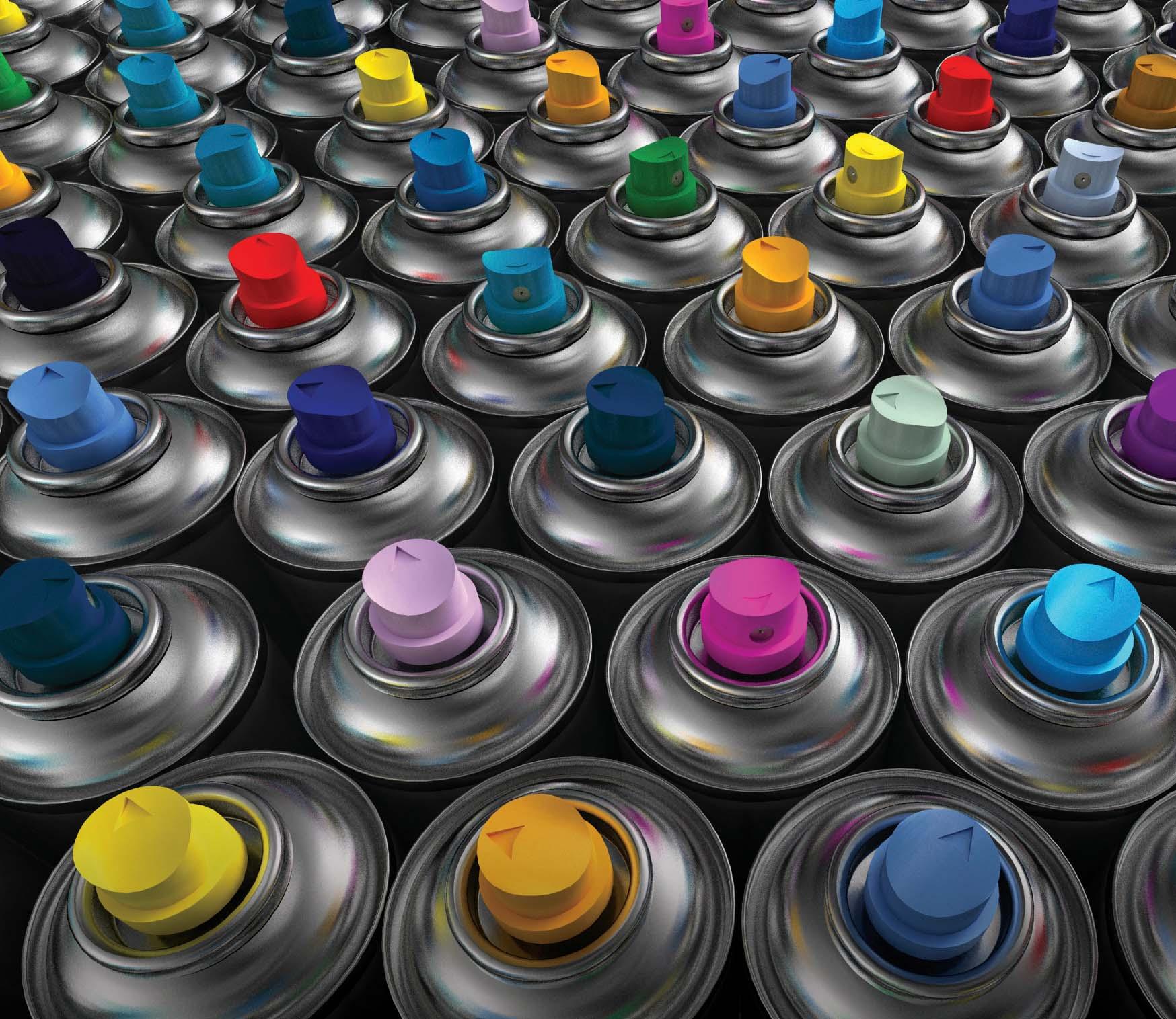 краска аэрозольная купить в перми