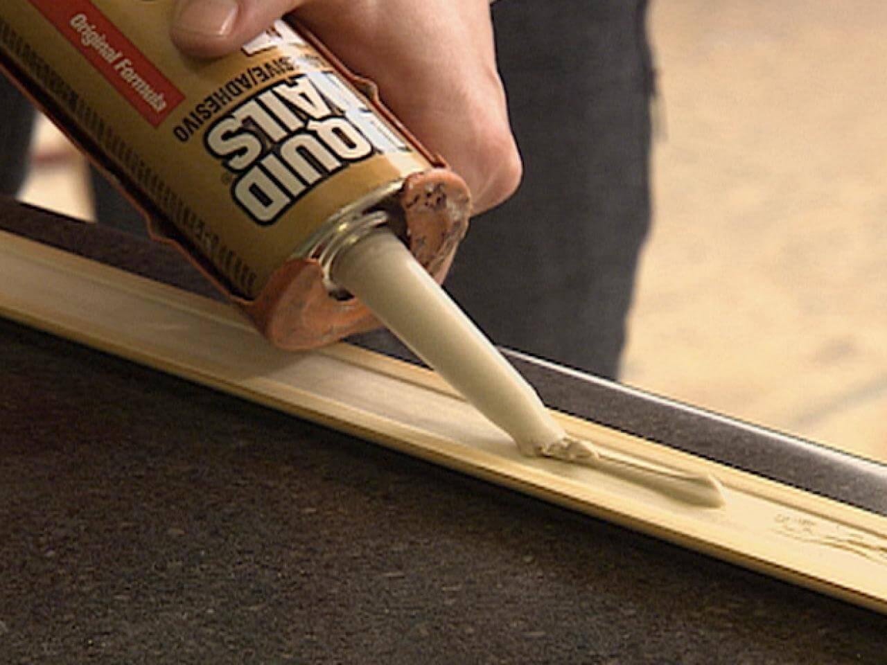 Как сделать строительный клей в домашних условиях