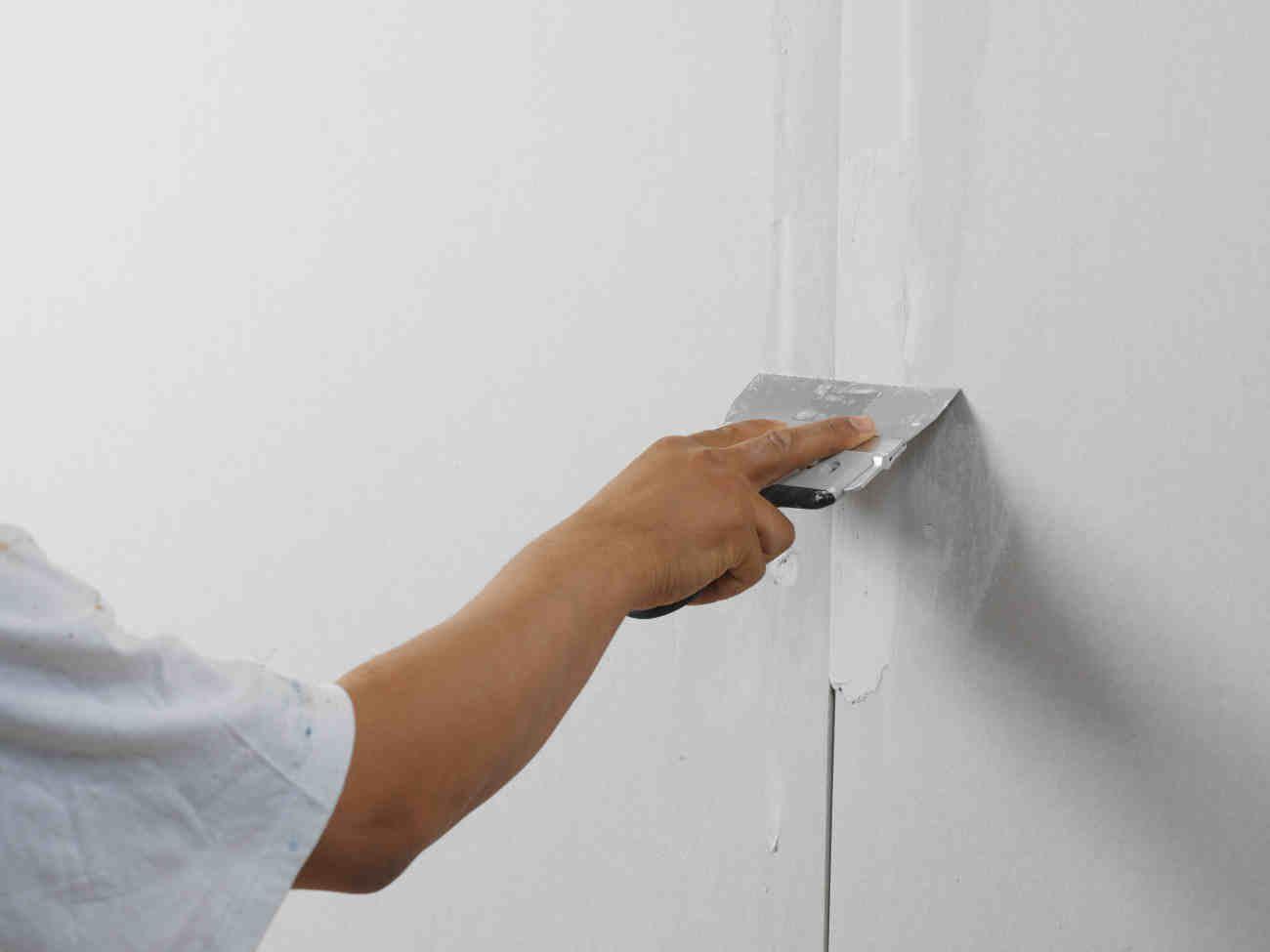 Заделка швов гипсокартона своими руками стены