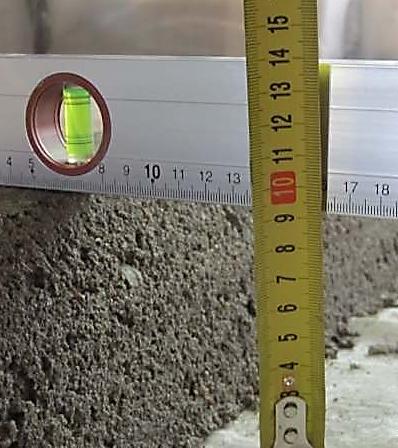 Толщина бетонного пола в гараже и технология заливки