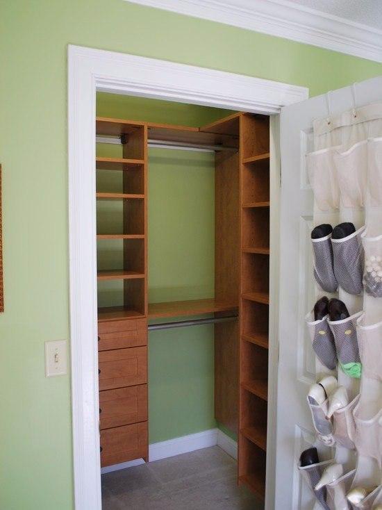 Сделать шкаф из кладовой в хрущевке своими руками 5