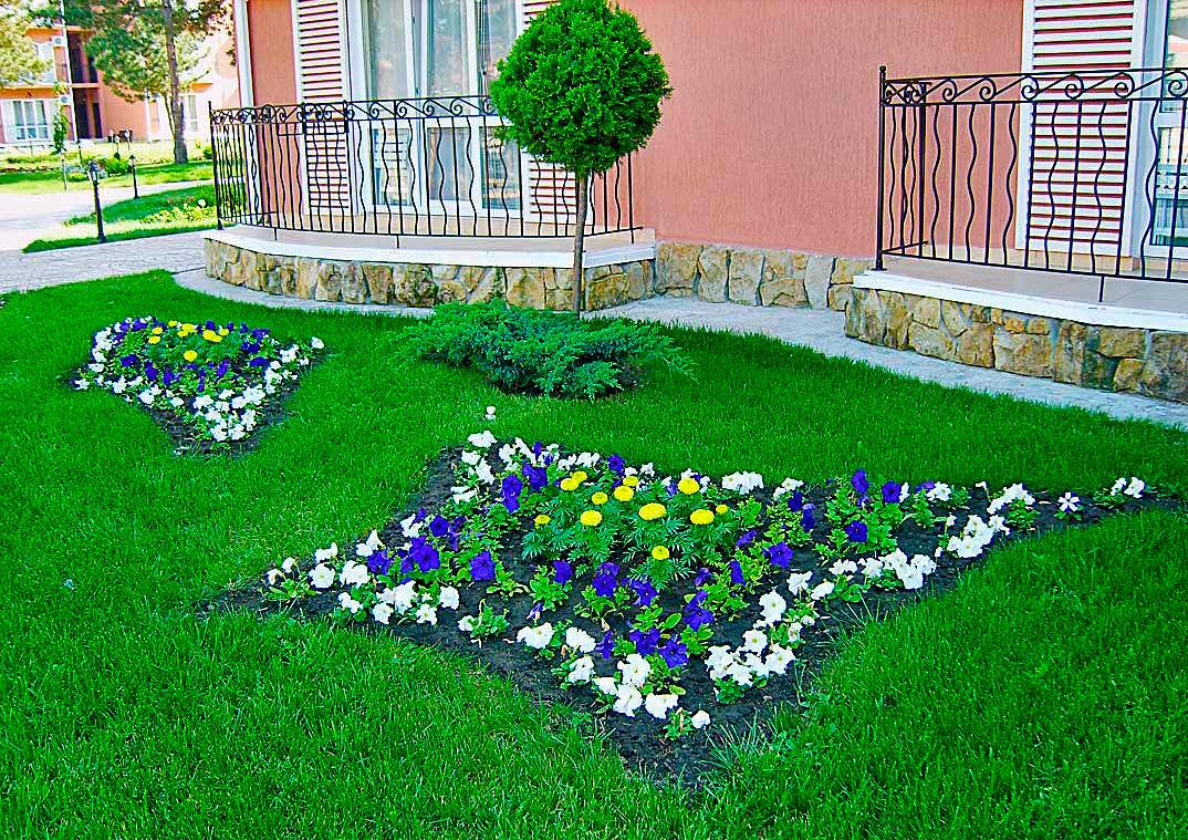 Как украсить сад: фото украшений для