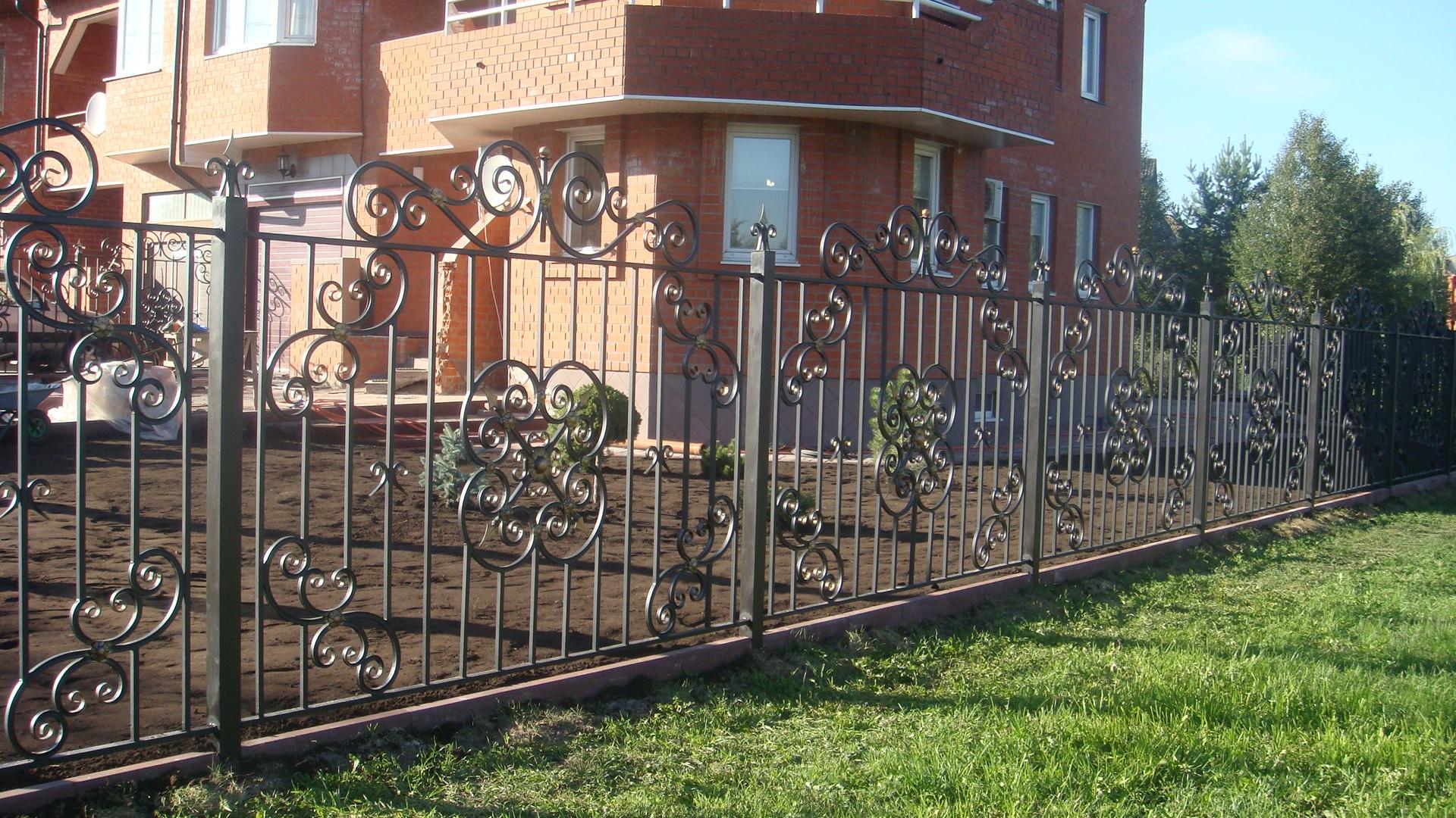 Кованый забор своими руками фото 745