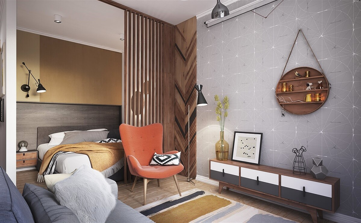 Дизайн маленькой квартиры: приёмы, идеи и вдохновение для