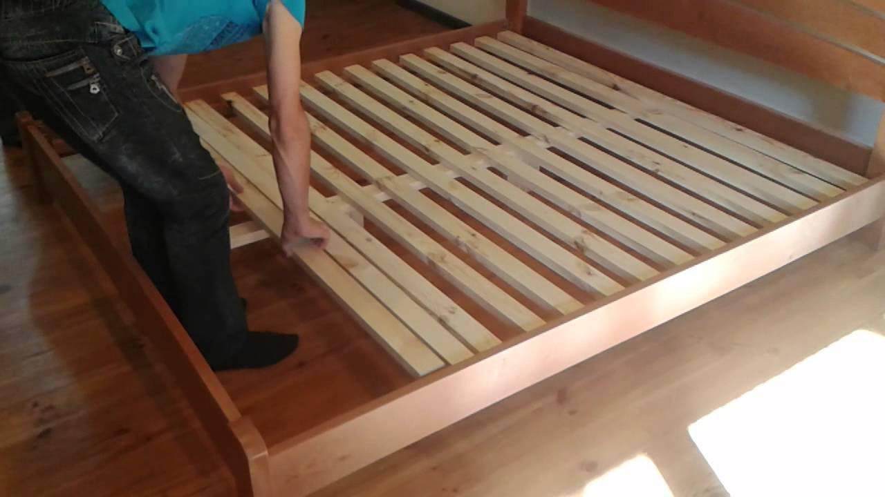 Как сделать кровать своими руками фото инструкция с