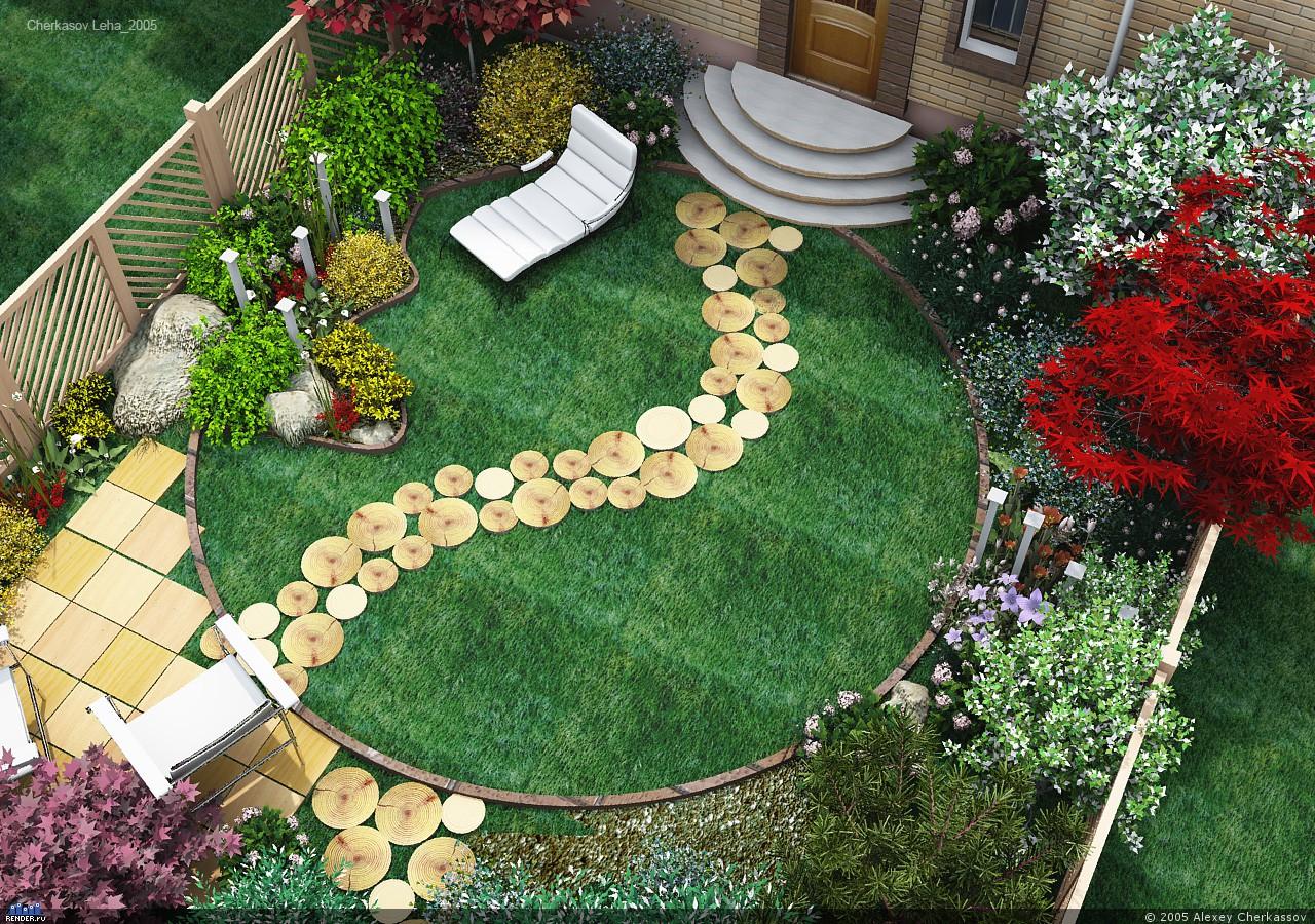 Садовый участок своими руками из подручных материалов фото 457