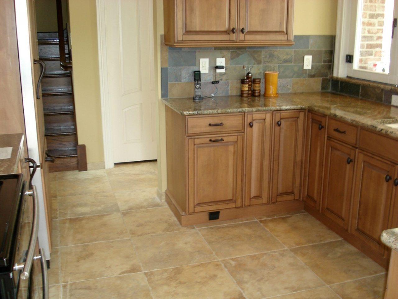 Идеи плитки для кухни на пол фото
