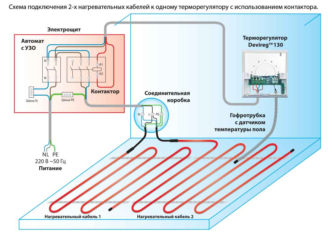 Схема терморегулятора для теплого пола своими руками схема фото 638