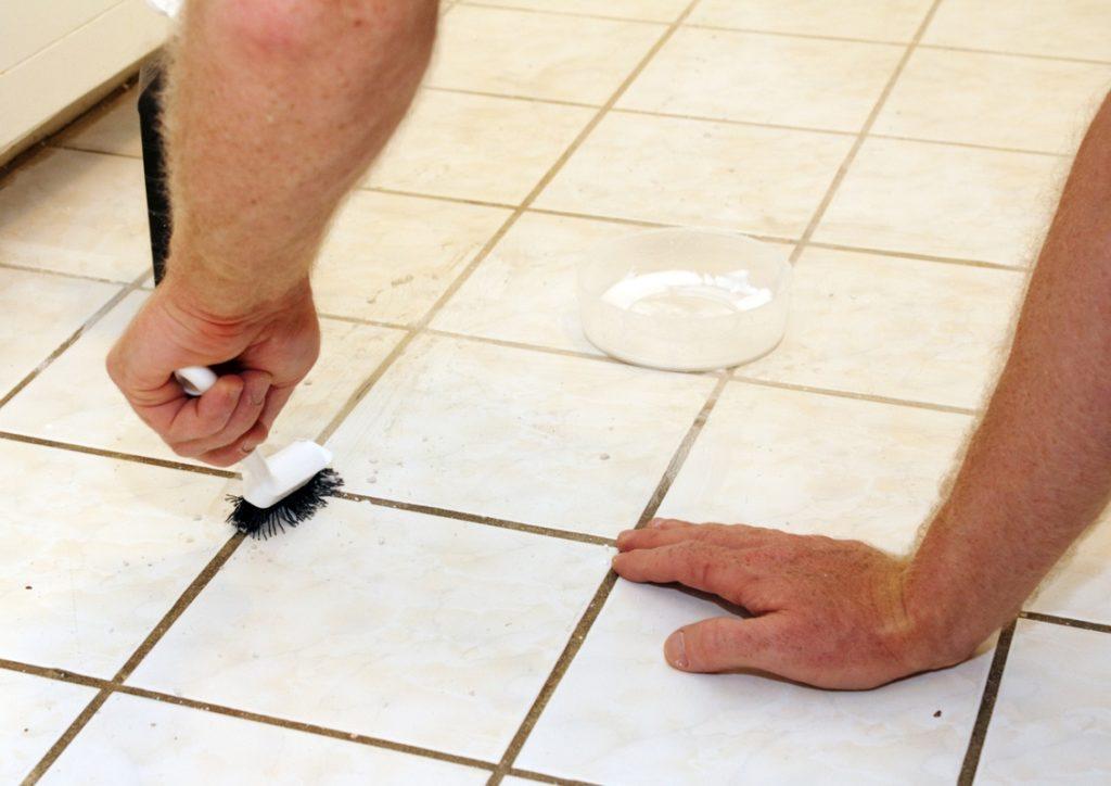 Как отмыть плитку в домашних условиях 159